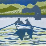 Harbour Crossing £150 Woodcut Edition of 12, 5 SOLD
