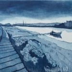 Harbour view, Walberswick £150 Etching,  Edition of 25,  4 SOLD