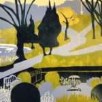 Parklife  £180 Woodcut, Edition of 8,   3 SOLD