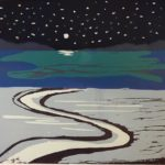 Quay at Night £130 Edition of 12,   1 SOLD