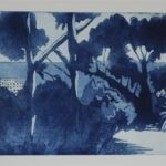 Renoirs Garden.  £250 Etching  Edition of 25 V/E